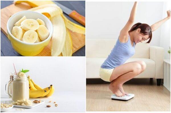 Ăn chuối buổi tối có giúp giảm cân không ?