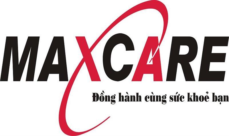 Logo thương hiệu ghế massage MaxCare